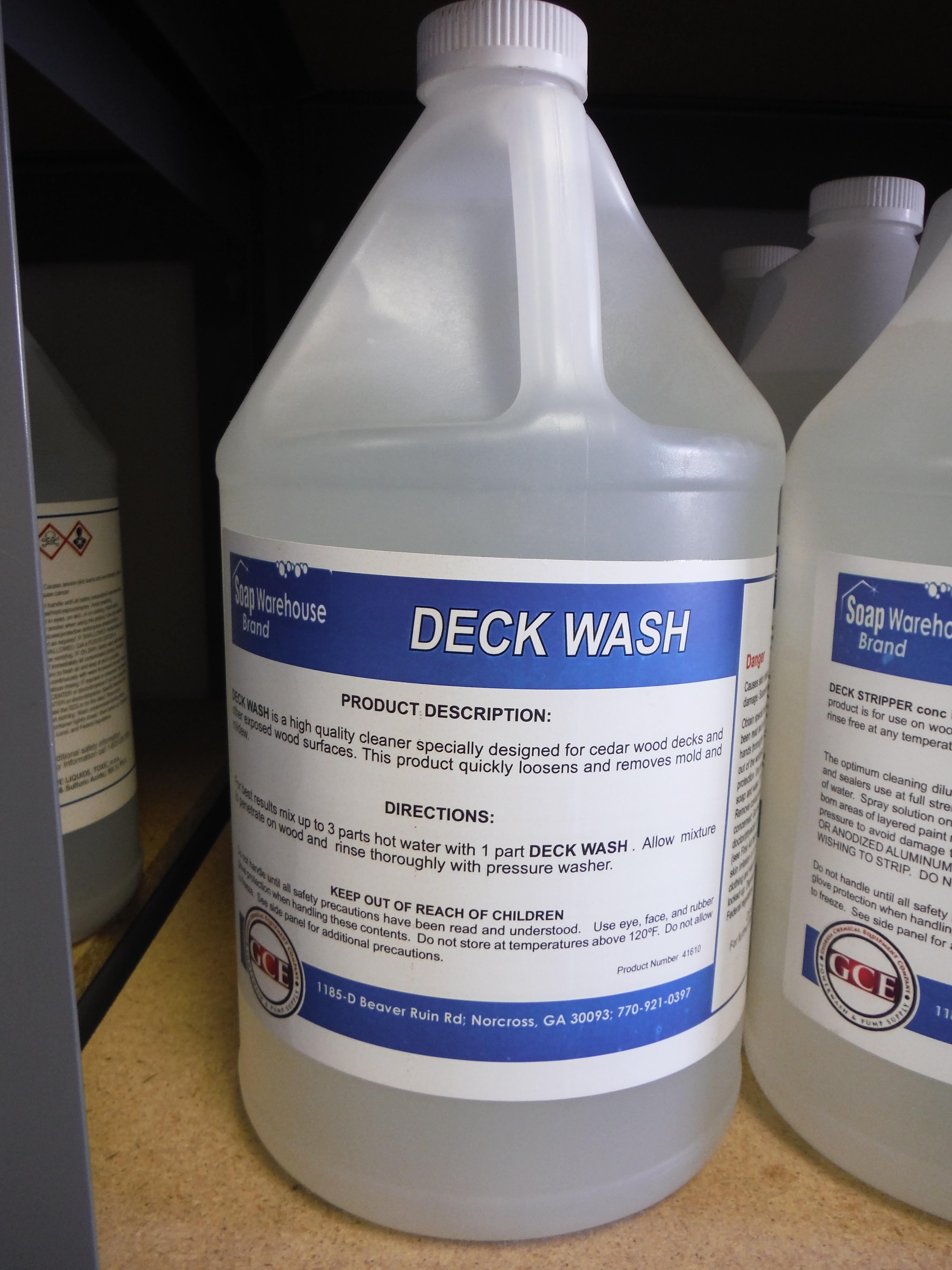 Itd Deck Wash 1 Gallon 41610 01