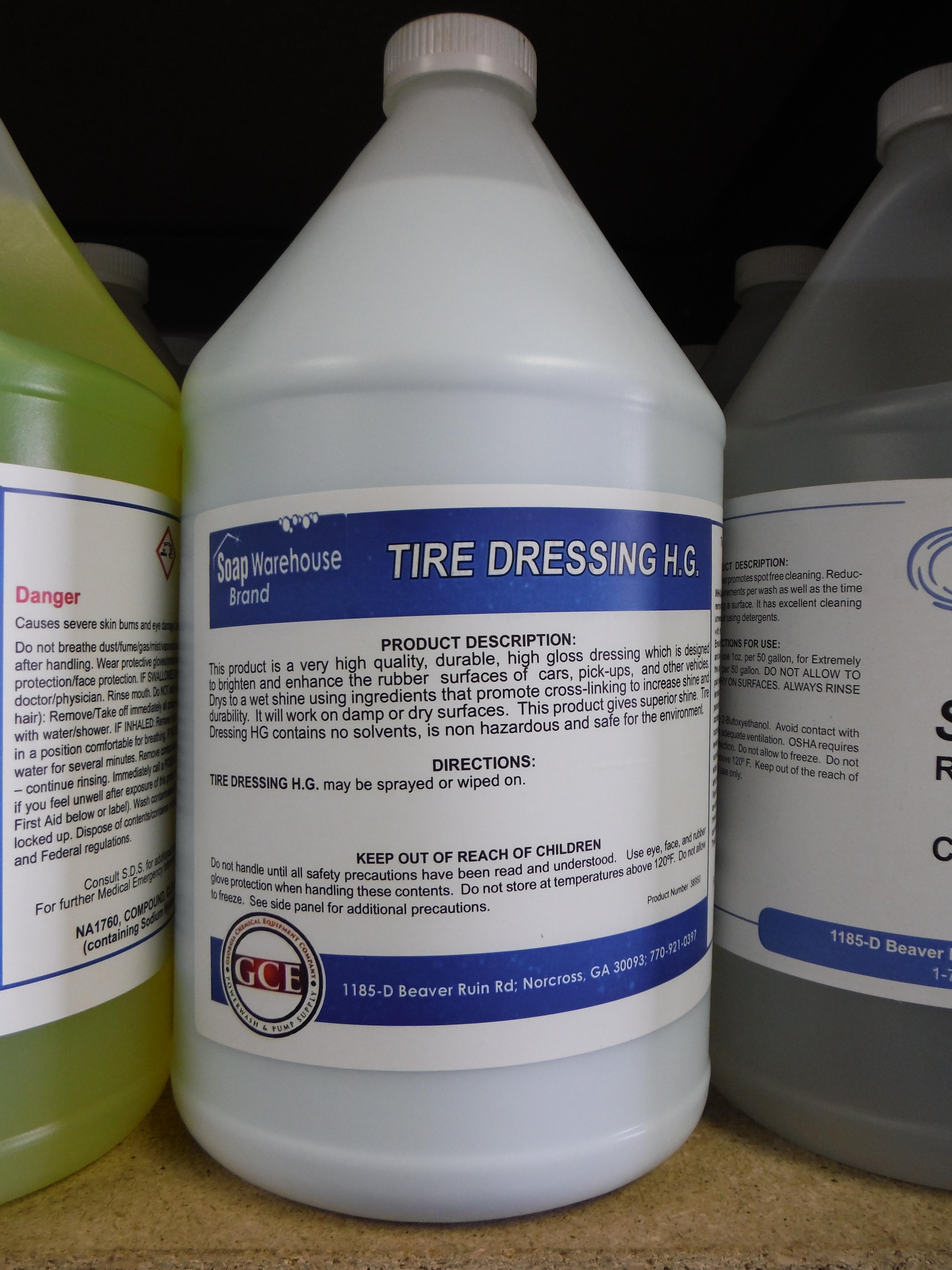 ITD - Tire Dressing High Gloss 1 gallon #38950-01