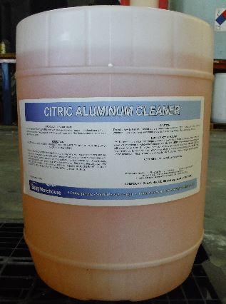 Citric Aluminum Cleaner 5 gallon