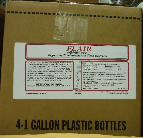 Flair Case of 4, 1 gallons