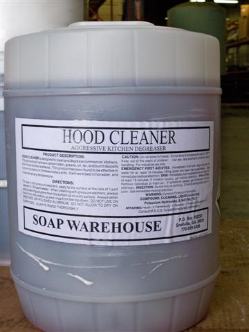 Hood Cleaner 5 gallon