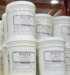 White Oxy Bleach 40 lb pail